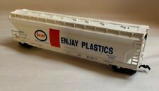 Enjay Plastics Freight Chemical Company White red blue Train SHPX 52701 Bachmann
