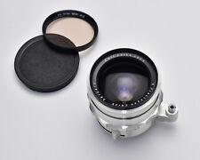 Carl Zeiss JENA Flektogon f/2.8 35mm Wide Angle Lens Silver EXA Mount (#3074)