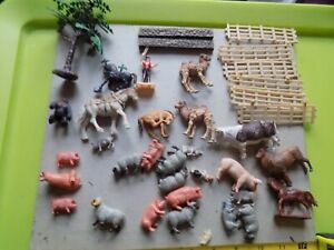 vintage  Britains Farm  animals and other mixed animals job lot spares