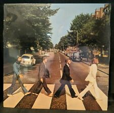 The Beatles Abbey Road  SO-383 Sealed 1983 Promo Hole Capitol Rainbow See Photos