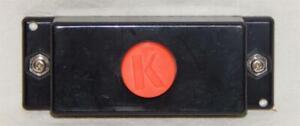 K-Line K-0090A Single Push Button Controller for accessories Parts K-1O orange