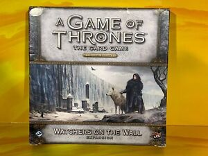 A Game of Thrones Card Game - Watchers On The Wall Expansion Pack