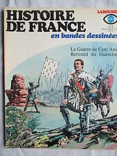 HISTOIRE DE FRANCE EN BANDES DESSINEES 8 GUERRE DE CENT ANS  (RIBERA/RAPHAEL)