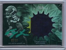 2015 Topps Diamond Rookie Auto Patch Green Parallel #RAP-TL Tyler Lockett 2/10