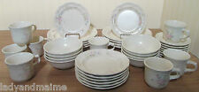 Pfaltzgraff Tea Rose USA Dinner, Salad, Cereal, Cups, Saucers   Service for 8