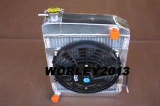 50 mm aluminum radiator + fan for AUSTIN ROVER MINI 1275 GT 1959-1997 Manual