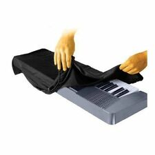 On Stage Keyboard Dust Cover for 61 Key Piano Storage waterproof Black