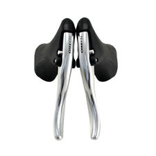 TEKTRO RL520 Road Bike Drop Bar Brake Levers Set For Linear Pull Brakes , Silver