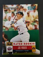 JOE MAUER Minnesota Twins RATED ROOKIE CARD Donruss Baseball 42/100 SSP RARE!!!