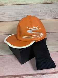 Orange Puma Rickie Fowler Orange Long Neck Cap Golf Club Head Cover Driver