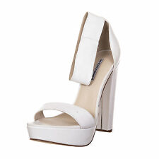 Windsor Smith donna woman scarpa shoes white bianco EU 37 - 044 H03