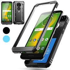 Case For Motorola Moto E5 Plus Hybrid Shockproof Drop Protective Cover