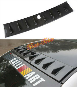 For Mitsubishi Lancer 08-15 Carbon fibre Roof Radio Antenna Spoiler Wing Cover