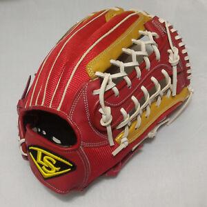 "Louisville Slugger Air IV 12.5"" Red/Gold T-Web Infield RHT Baseball Glove"