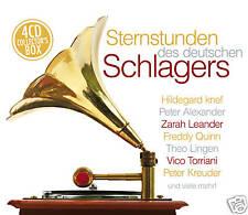 CD Sternstunden Des Deutschen Schlagers von Diverse  4CDs  mit Hildegard Knef