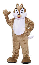 DELUXE PLUSH CHIPMUNK MASCOT ADULT HALLOWEEN COSTUME STANDARD SIZE ALWAYS FUN