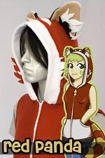 Red Panda Hoodie Vest, New, Kigurumi, Cosplay, Costume