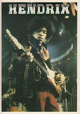 Jimi Hendrix Photo Postcard Stars And Stripes Original Issue Collectable 4x6