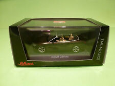SCHUCO AUDI A5 CONVERTIBLE - TEAK BROWN 1:43 - MINT CONDITION IN BOX