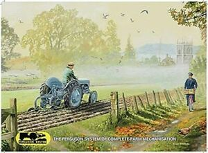 Tractor Advertising Tin Signs T20 Grey/Red Vintage Fergy - variations Farming