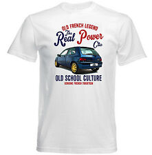 VINTAGE FRENCH CAR RENAULT WILLIAMS CLIO 1 - NEW COTTON T-SHIRT