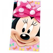 Disney Minnie Mouse imprimé velours serviette de plage 75x150cm