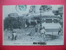 PARIS VÉCU  :  Les Travaux de Voirie........VO.1907.