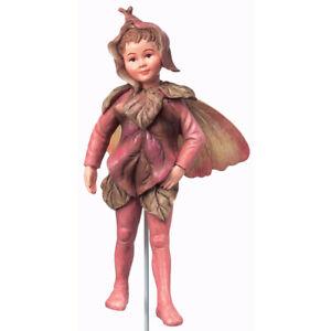 Flower Fairy Hartriegel Deko Figur Elfe Fee Blumenkind NEU