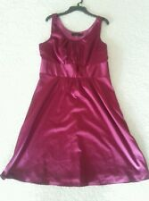The Limited Size 8 Magenta Purple Lined Office Party Cocktail dress.