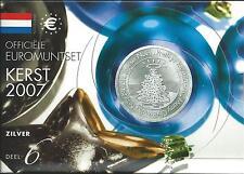 KMS Niederlande 2007 Kerst Silver
