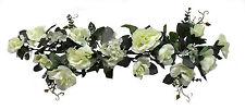 "Ivory Swag 30"" Silk Wedding Flowers Roses Hydrangea Arch Chuppah Centerpieces"