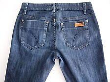 Joe's Jeans Womens Dark Wash Low Rise Chelsea Straight Leg Ankle Jeans USA 25