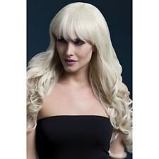 Women's Fever Isabelle Blonde Long Straight Professional Model Wig Fancy Dress