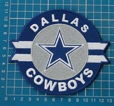 """DALLAS COWBOYS LOGO NFL FOOTBALL 5"""" JERSEY PATCH EMBROIDERED"""