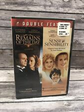The Remains of the Day / Sense and Sensibility DVD Double Feature NEW Sealed