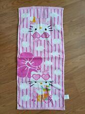 Sanrio Hello Kitty Hand Towel kitchen bathroom towel Pink