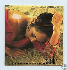"Sade/Love Is Stronger Than Pride + 1  (Europe/Sealed/Rare 3"" CD)"