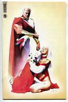 Alan Moore's Awesome Universe Handbook 1 A 1999 NM- Alex Ross