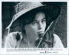 1984 Pretty Actress Sarah Patterson in The Company of Wolves Press Photo