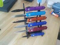 Polymer 6 Knife Display Stand Knife Rack knives