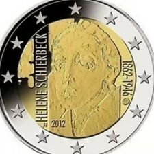 Finland Coin 2€ Euro 2012 Commemorative Helene Schjferbeck New UNC from Roll
