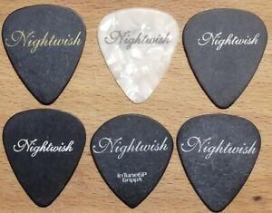 NIGHTWISH Mega Rare guitar pick set (Marco Hietala, Troy Donockley, Emppu)