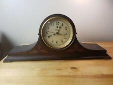 Working 1920's Antique Mantel / Shelf Clock