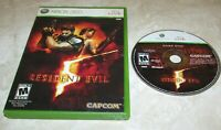 Resident Evil 5 for Xbox 360 Fast Shipping!