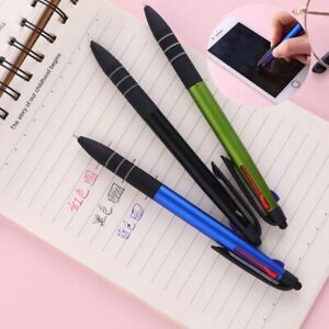 3 In 1 Multicolor Ballpoint Pen Ink Ball Pens For School Pens Office Write Suppl