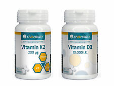 FP24 Health Vitamin K2 - 200µg + Vitamin D3 - 10.000 IE je  365 Tabletten