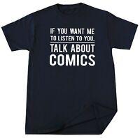 Comics Books Lover Birthday Christmas Gifts Comedian Humorist Funny T Shirt Tee