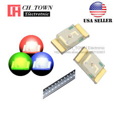 100PCS SMD SMT 1206 (3216) RGB Red Green Blue Light Common Anode LED Diodes USA