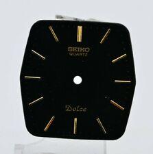 F979 Vintage Seiko Dolce Quartz Dark Watch Dial and Hands Authentic JDM 61.1