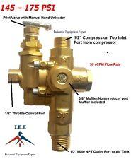 New Gas Air Compressor Pilot Check Valve Unloader Valve Combo 145 175 Ng7
